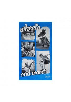 TOWEL WHEELS 90X160 CM(R)