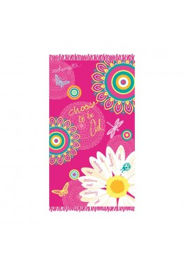 PAREO FLOWER 100X170 CM