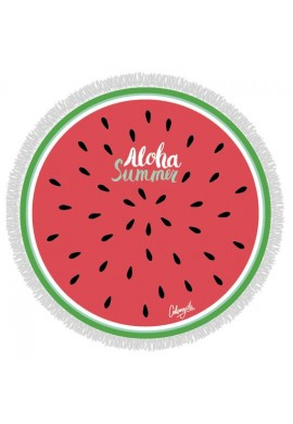 ROUND TOWEL WATERMELON