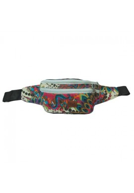 WAIST BAG 3 ZIP MANDALA