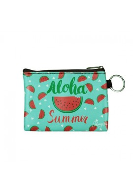 PURSE ZIP WATERMELON
