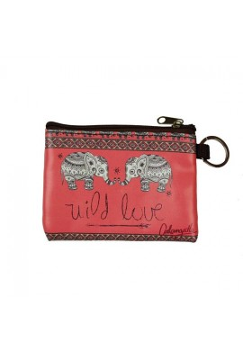 PURSE ZIP ELEPHANT
