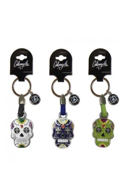 KEYCHAIN MEXICAN SKULL