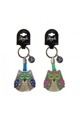 KEYCHAIN OWL ENJOY YOUR RIDE