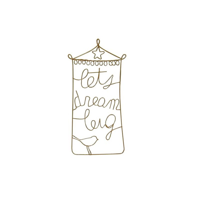 WIRE LETTERS DREAM (R)(20) - Coolangattasurf