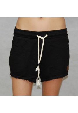 SHORT W ROPES BLACK